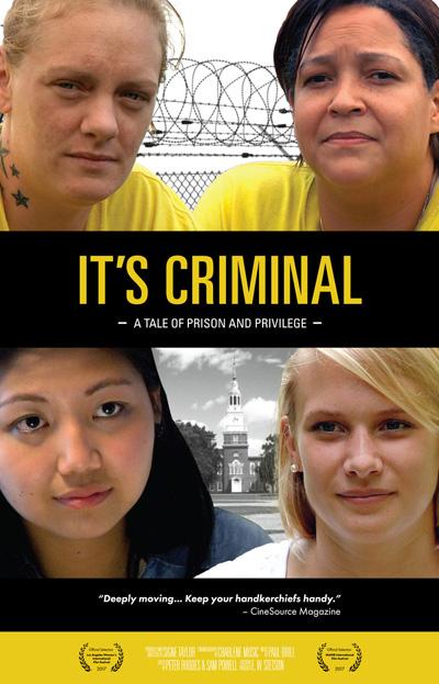 It's Criminal Poster